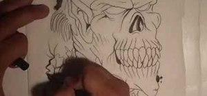 Drawa graffiti-style demon with Wizard