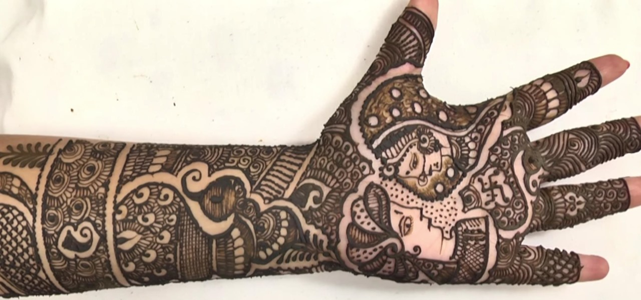 Create Bridal Mehndi Design in Minutes