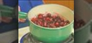 Cook, serve and store cranberries