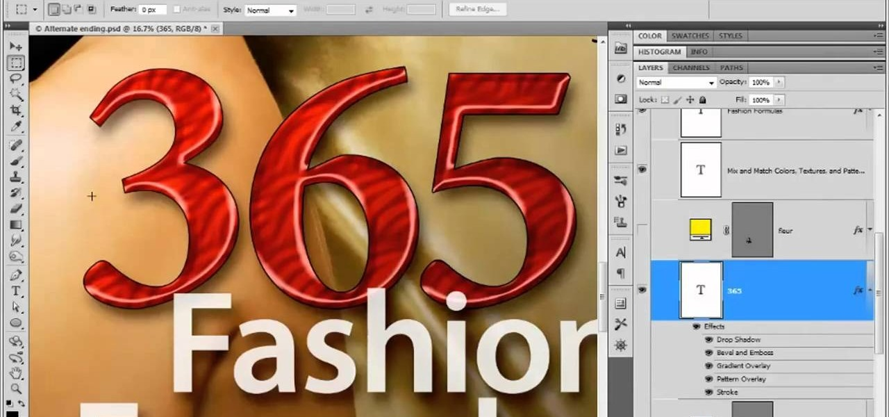 How To Design Poster Using Adobe Photoshop