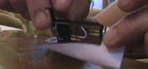 Set the stylus and needle on a Technics SL1200