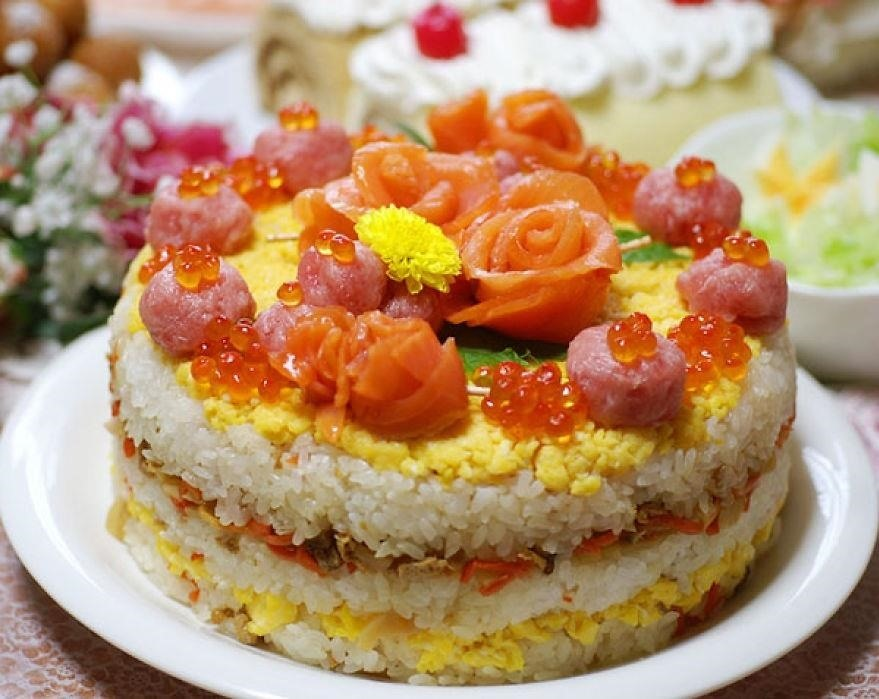 Sushi Cakes Look Too Delicious to Be Real