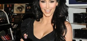 Create Kim Kardashian's signature bombshell curls