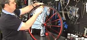 Change a flat clincher tire