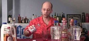 Mix a Mongolian Mother F'er cocktail