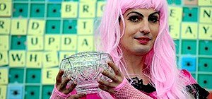 Drag Queen Crowned National Champion in British Scrabble Tournament