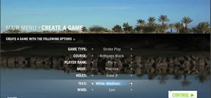 Play a multiplayer game in World Golf Tour
