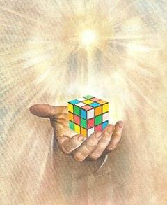 God Has Spoken: Algorithm Reveals Secret Number for the Rubik's Cube