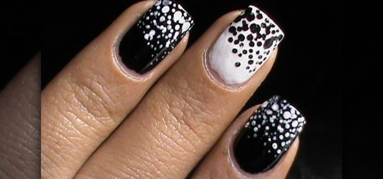 Black and White 'Shady and Trendy' Nails?!