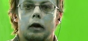 Create an ice frozen actor makeup special effect