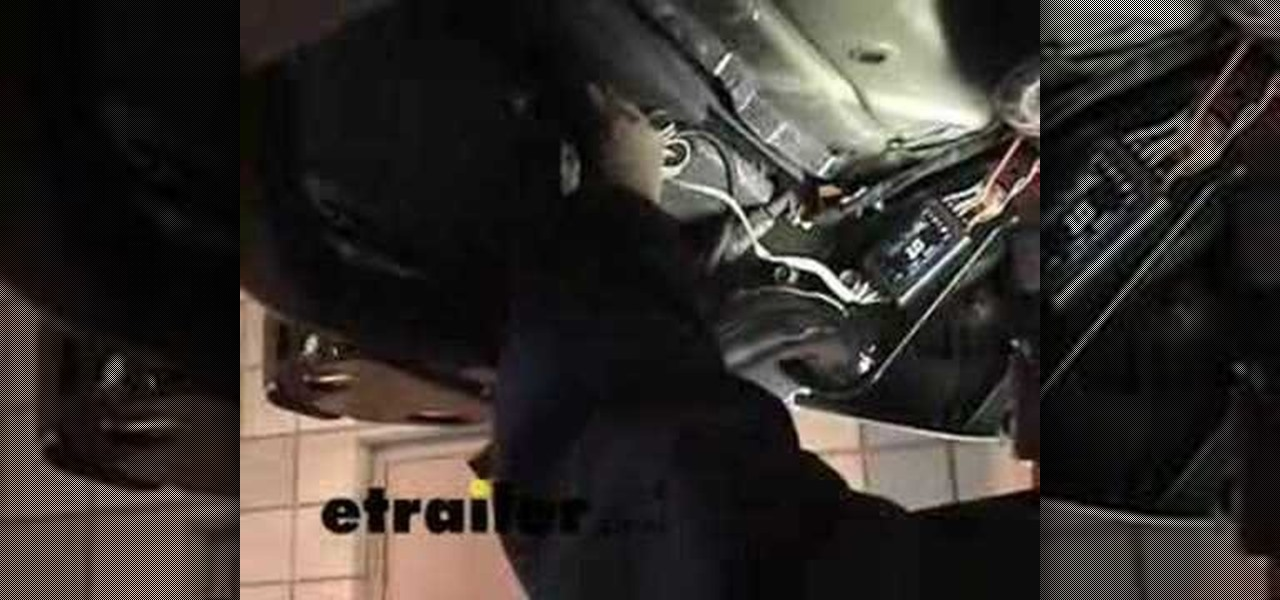 How to Install a trailer wiring harness in a Nissan Xterra « Car ...