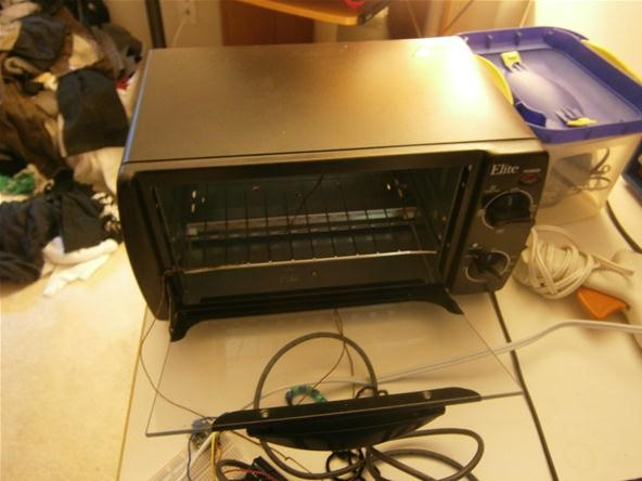Diy Lab Equipment  Build Your Own Reflow Oven Out Of A Toaster For Precision Temperature