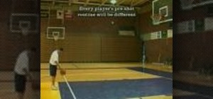 Practice free throws in basketball