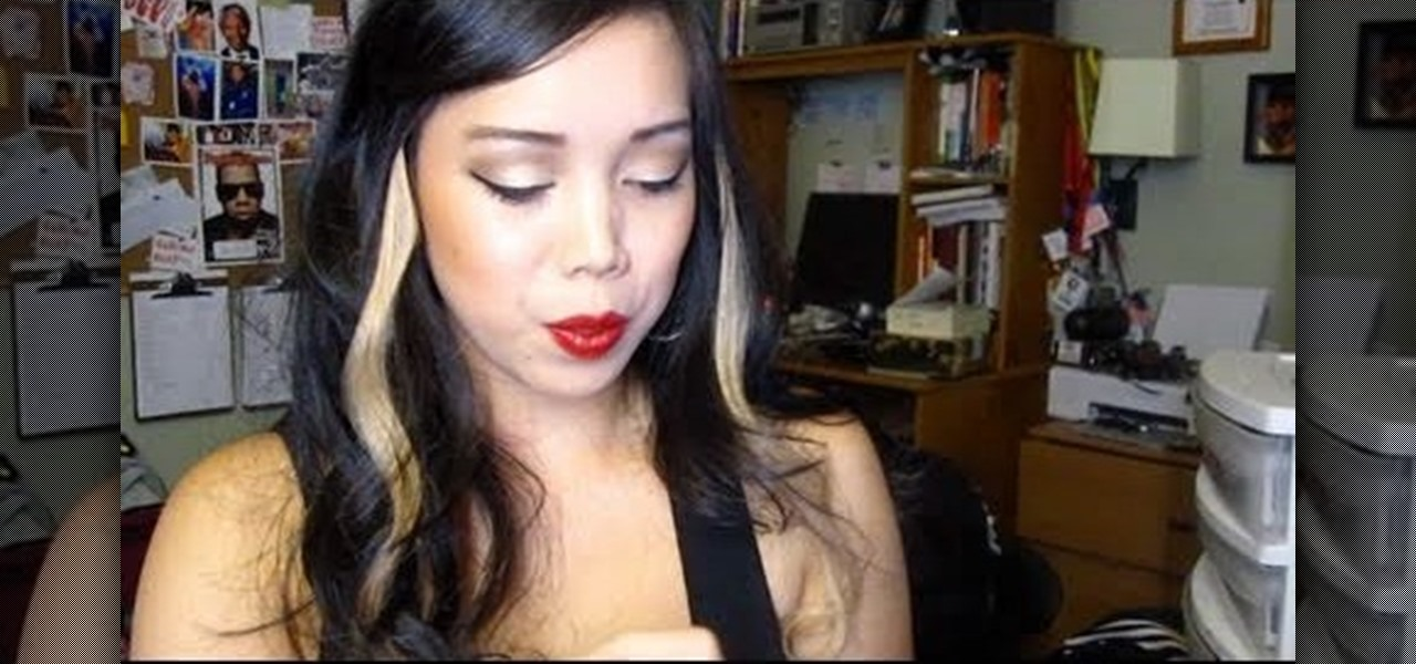 how to get a makeup look inspired by lea of the bad girls club makeup wonderhowto. Black Bedroom Furniture Sets. Home Design Ideas