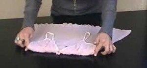 Fold a camisole