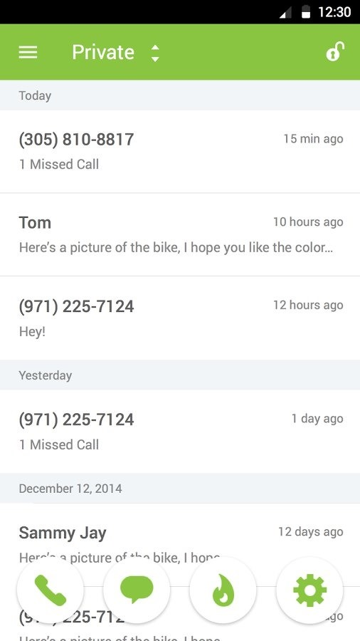Dating apps give phone number when