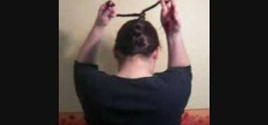 Rope braid your hair