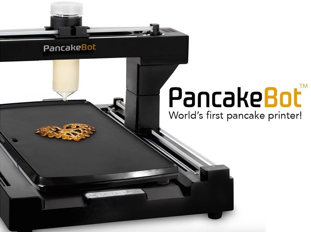 Food Tool Friday: Meet PancakeBot, the World's First Pancake Printer