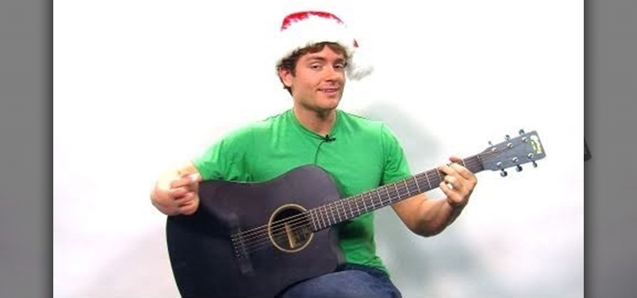 How To Play The Holiday Song Sleigh Ride On Guitar Acoustic