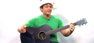 "Play the holiday song ""Sleigh Ride"" on guitar"