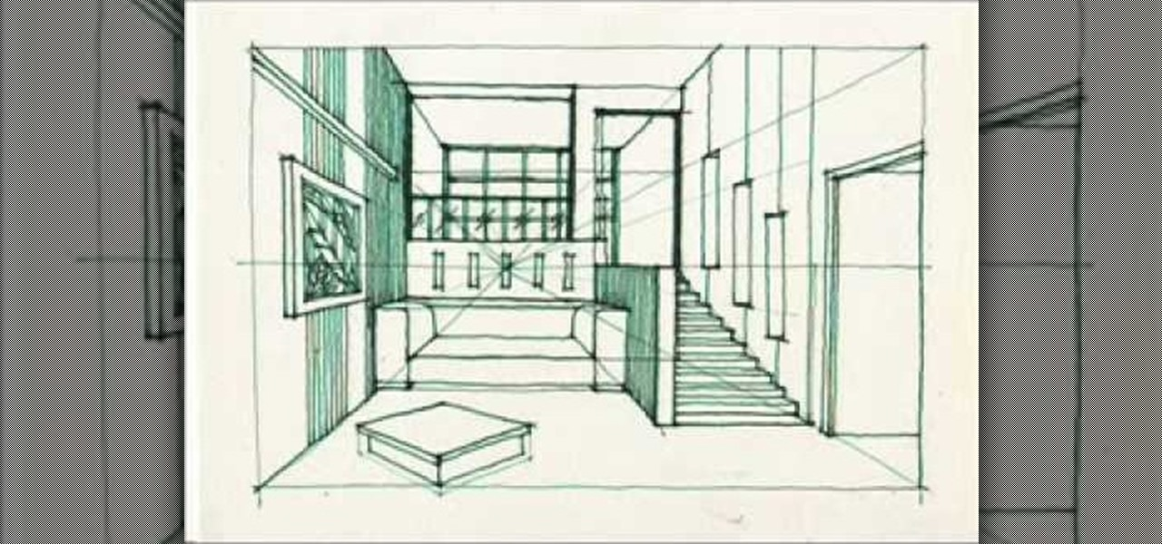 How to draw a split level room drawing illustration for Draw my room