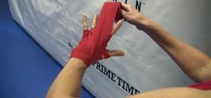 Wrap your wrist for boxing the right way