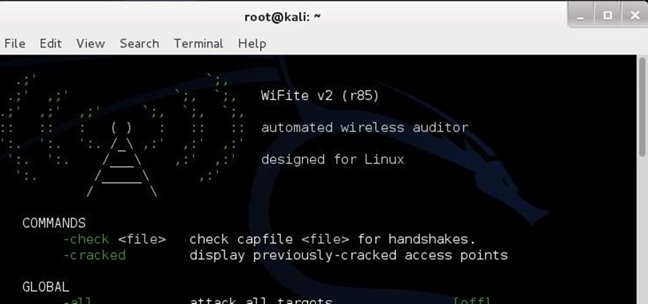 How to Hack Wi-Fi Using Wifite in Kali « Null Byte