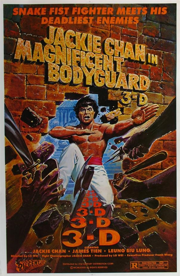 Magnificent Bodyguard 3-D