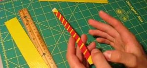 Make a bracelet or wrist band out of duct tape