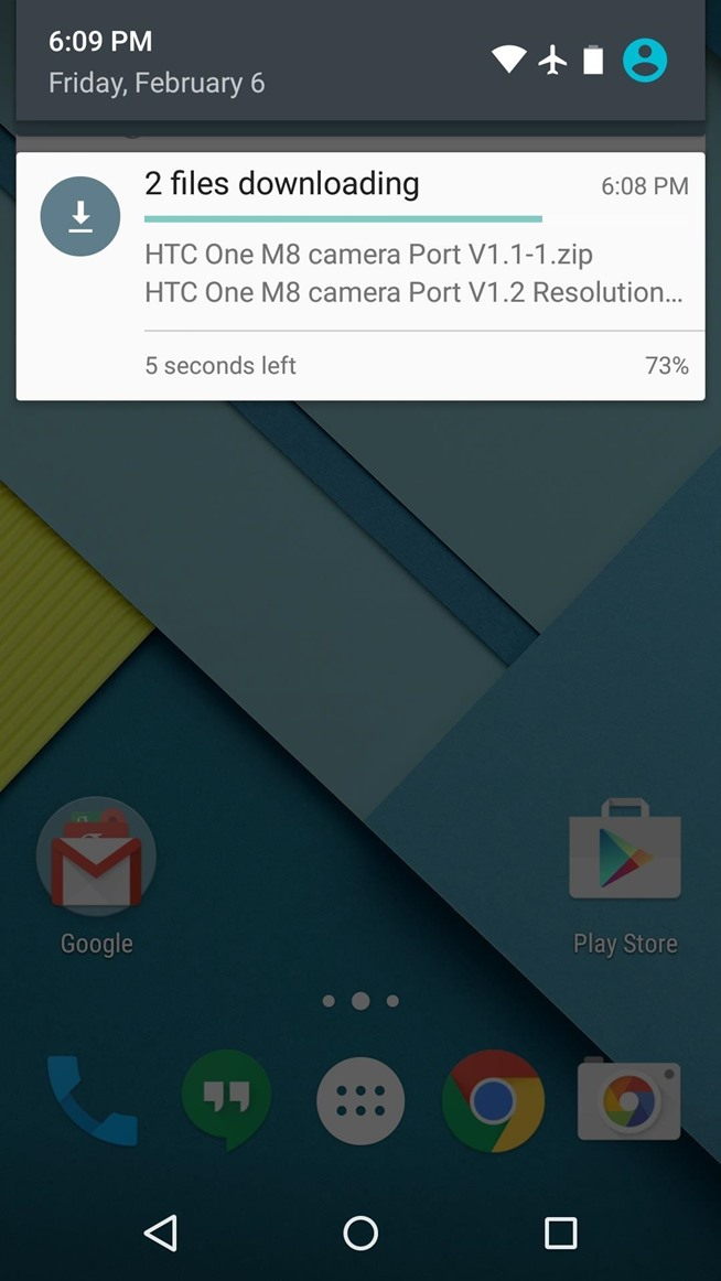 How to Get the HTC One M8's Camera App on Your Nexus 6