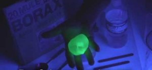 Make a bouncy ball and glow in the dark goo