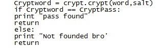 How to Make a Python Basic Unix Password Cracker!