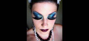 Get an extreme high fashion couture makeup look