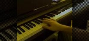 Play blues piano riffs with the right hand