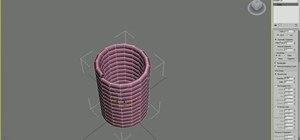 Create a 3D model of a screw in Blender