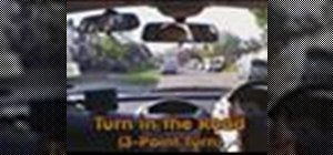 Do a three point turn - UK