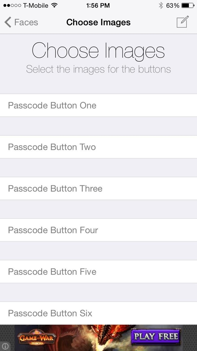 Unlock Your iPhone with Custom Images Instead of Numbers