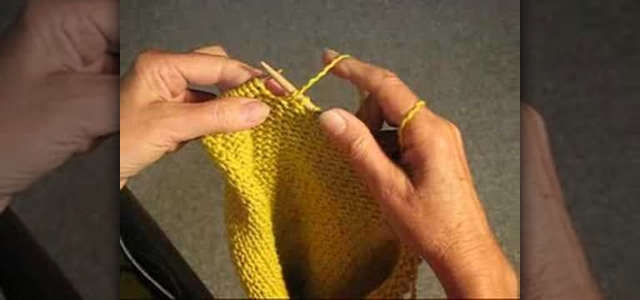 How To Unravel Knitting Stitches : How to Unravel yarn by the stitch to fix a knitting mistake   Knitting & ...
