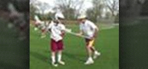 Teach defense in lacrosse