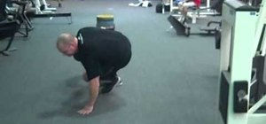 Do slosh sled dragging for athletes to develop your core and upper back
