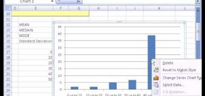 Find averages & standard deviation in Microsoft Excel