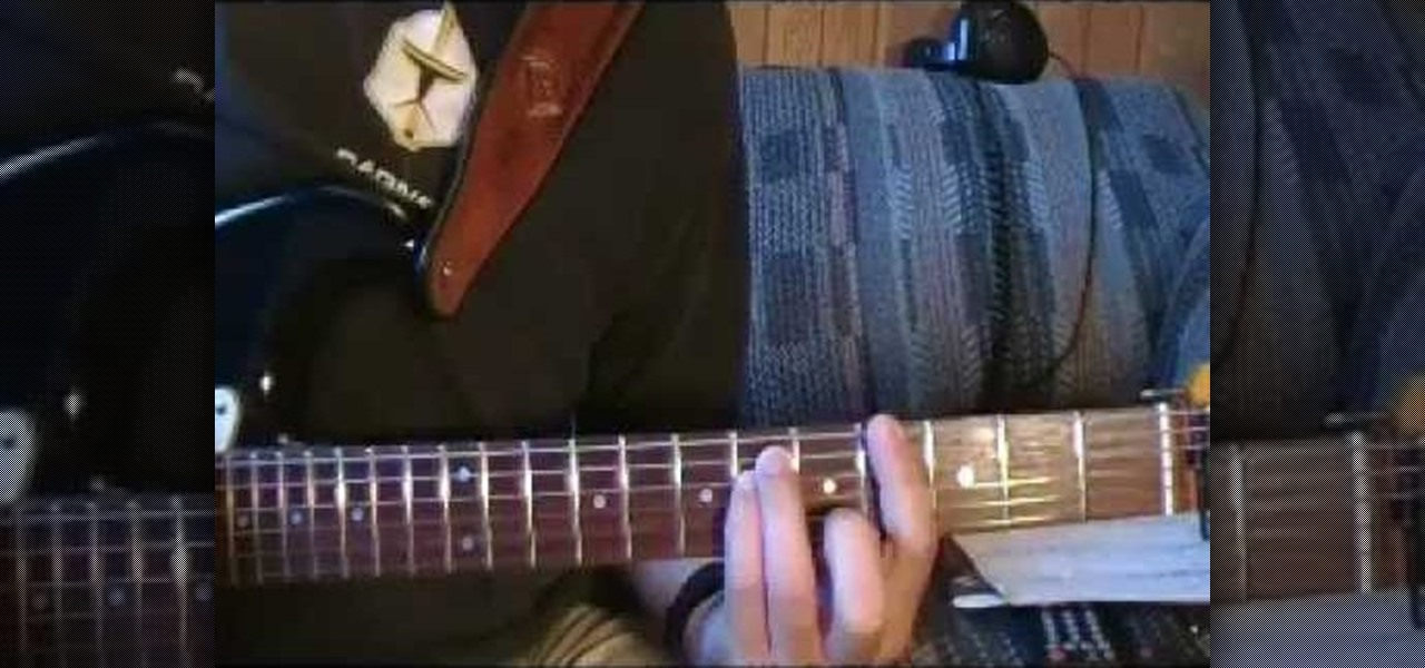 How To Play In Bloom By Nirvana On Electric Guitar Electric