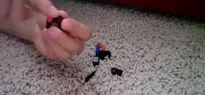 Build a Lego bionicle matoran-sized cordak blaster