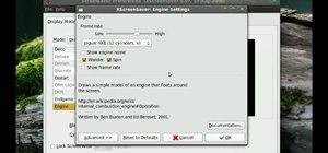 Use Xscreensaver to change screen settings in Ubuntu
