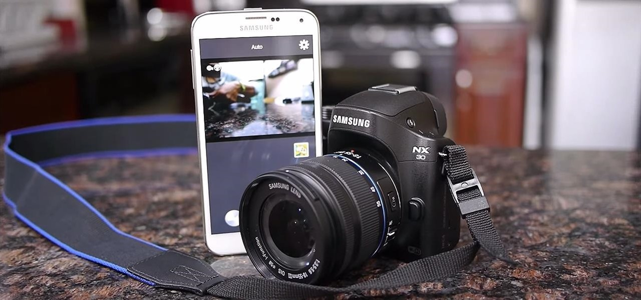 Control Your Samsung Smart Camera with Your Android or iOS Device