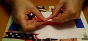 Make hair bows with ribbon spikes