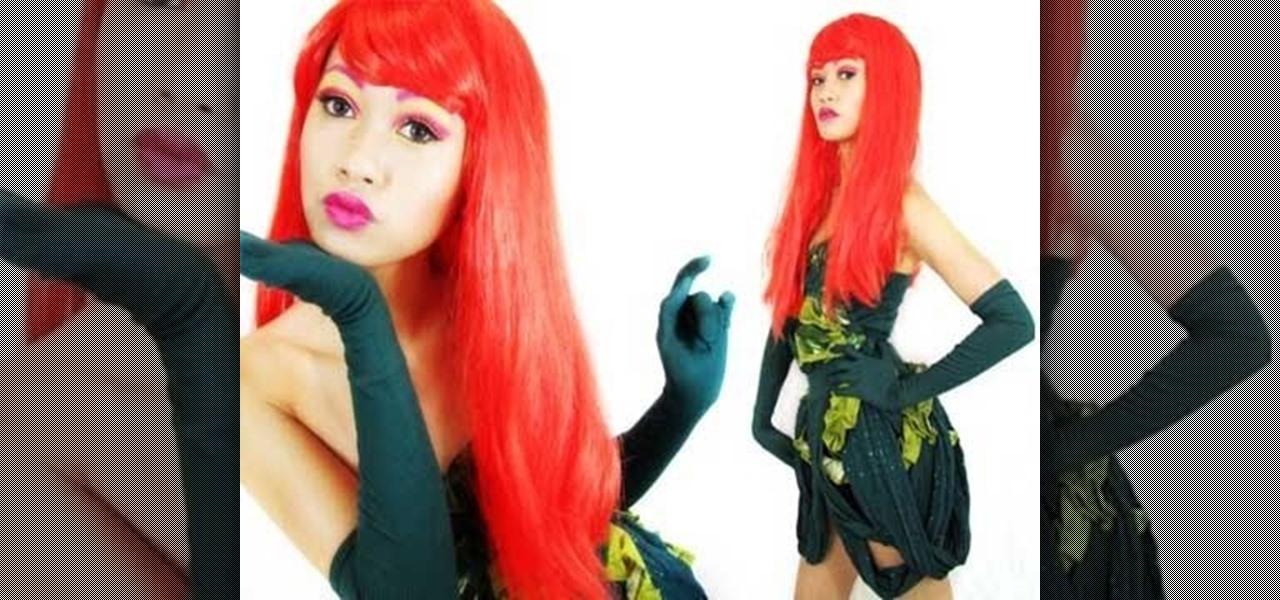 How to Make your own Poison Ivy supervillain costume « Fashion Design  WonderHowTo  sc 1 st  Fashion Design - WonderHowTo & How to Make your own Poison Ivy supervillain costume « Fashion ...
