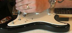 Replace, install or remove a guitar's pickguard