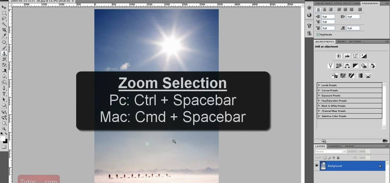 How to zoom in and out in photoshop cs4 photoshop wonderhowto ccuart Image collections