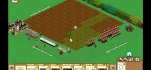 Put trees on top of crops in FarmVille (12/13/09)